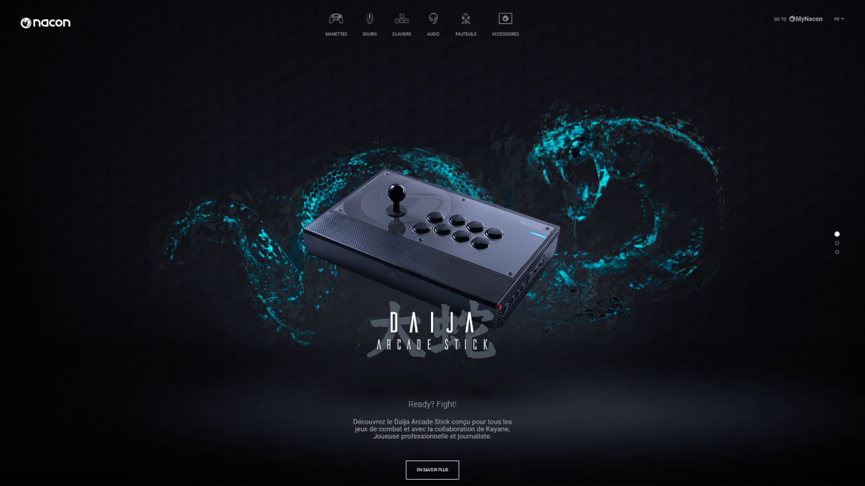 https://www.fabienrodrigues.com/Nacon Gaming - Home