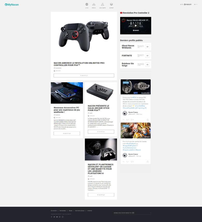 https://www.fabienrodrigues.com/Nacon Gaming - Home de MyNacon