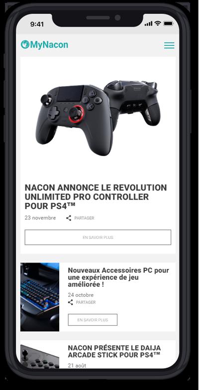 https://www.fabienrodrigues.com/Nacon Gaming - Actualités