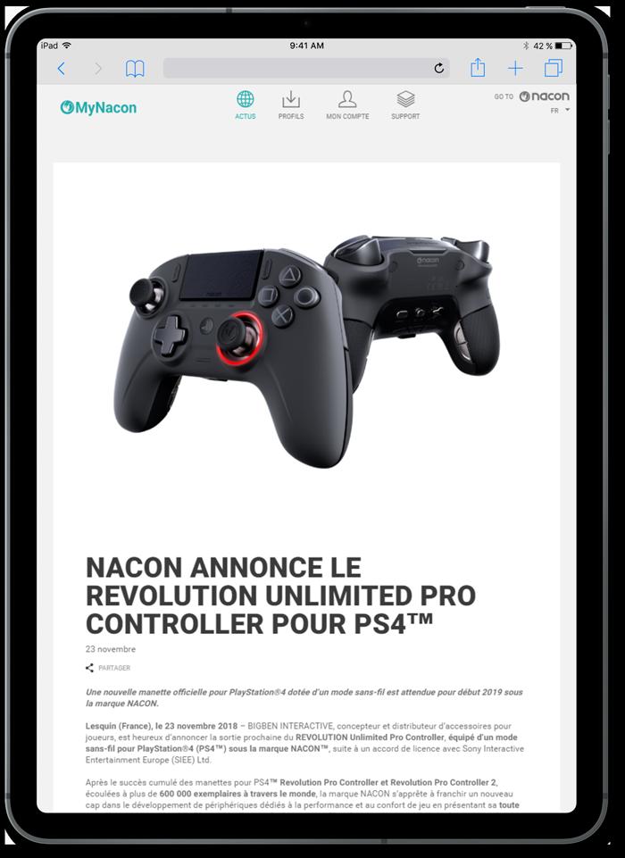 https://www.fabienrodrigues.com/Nacon Gaming - Détail d'une actualité
