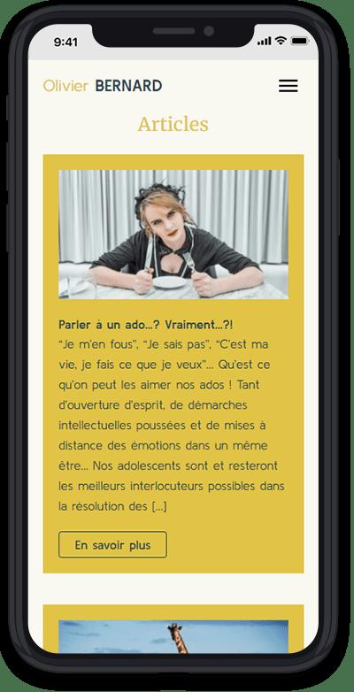 https://www.fabienrodrigues.com/Olivier Bernard - Ses articles