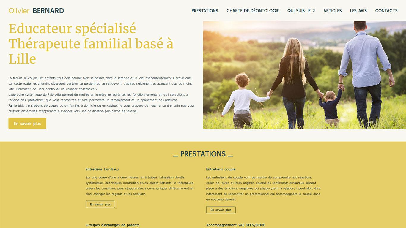https://www.fabienrodrigues.com/Olivier Bernard - éducateur spécialisé et thérapeute familial