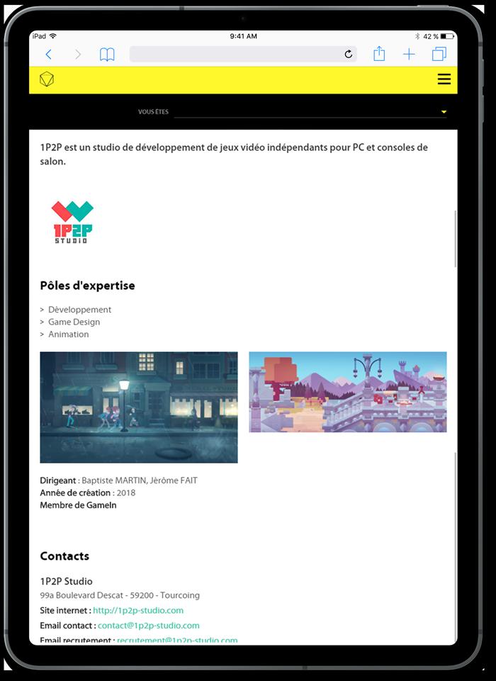 https://www.fabienrodrigues.com/Plaine Images - Page entreprise sur tablette