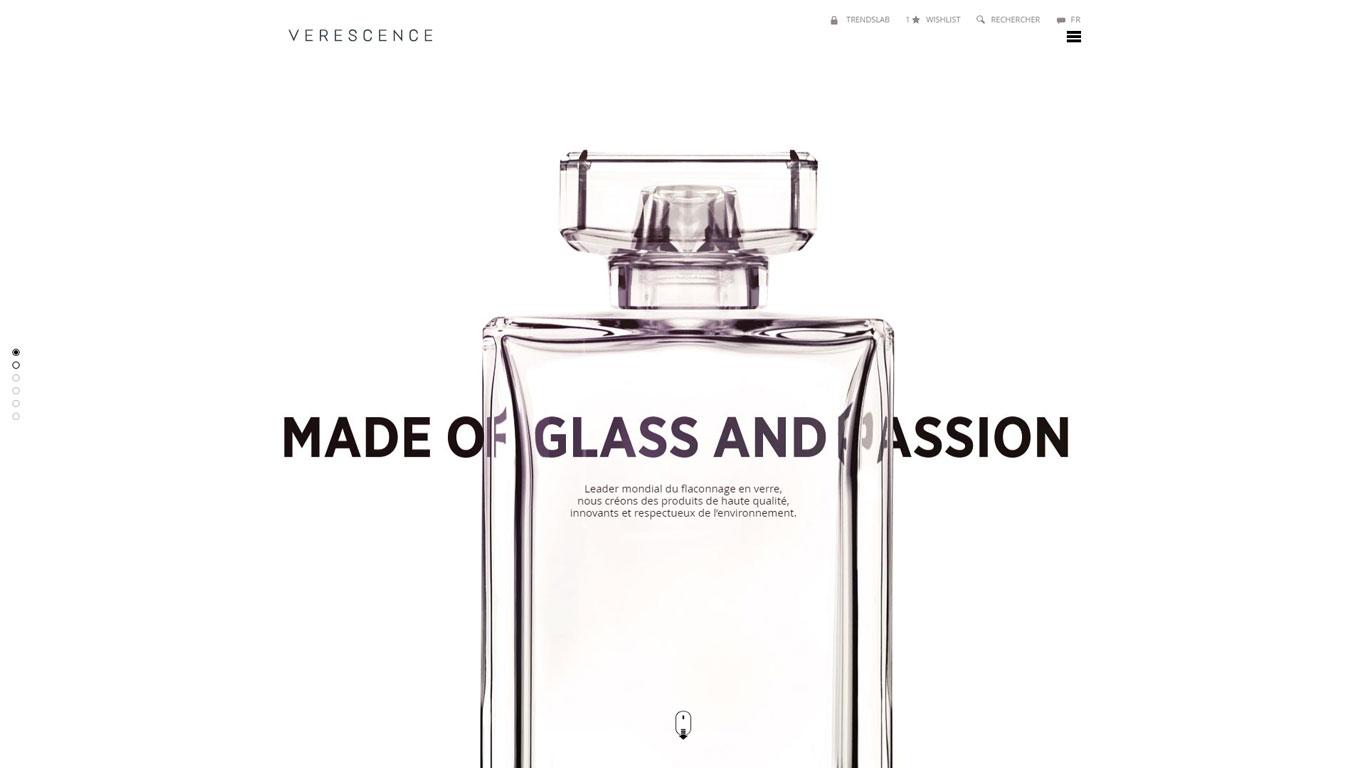 https://www.fabienrodrigues.com/Verescence - Etapes de fabrication d'un flacon