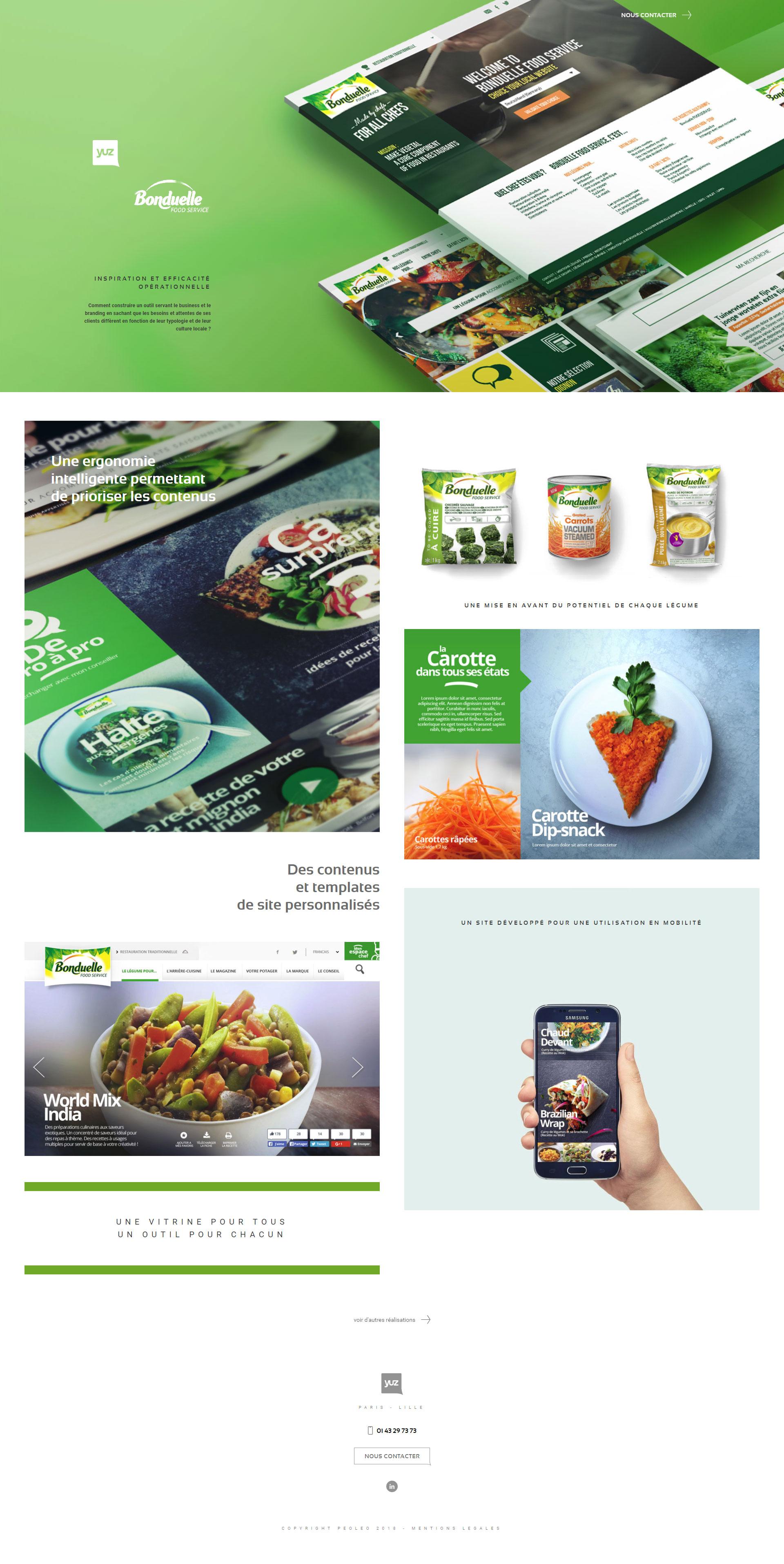 https://www.fabienrodrigues.com/YUZ - Bonduelle Food Service